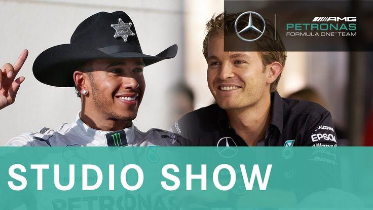 Lewis and Nico talk US GP + F1 Championship possibilities revealed!