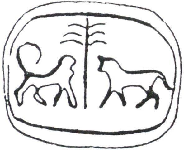 Aus: O. Keel / Chr. Uehlinger, Götter, Göttinnen und Gottessymbole (QD 134)…