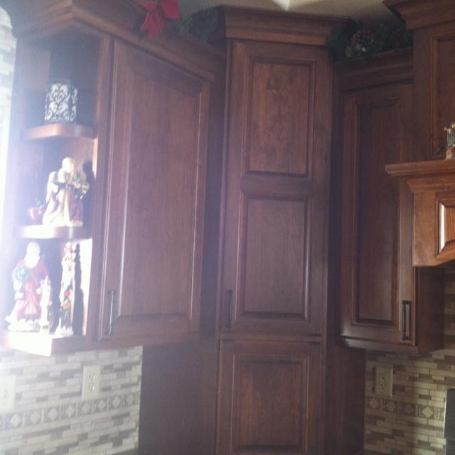 Decorative Kitchen Corner Shelves