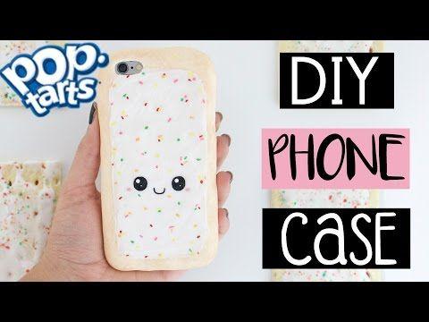 DIY POP-TART PHONE CASE From Scratch! - YouTube