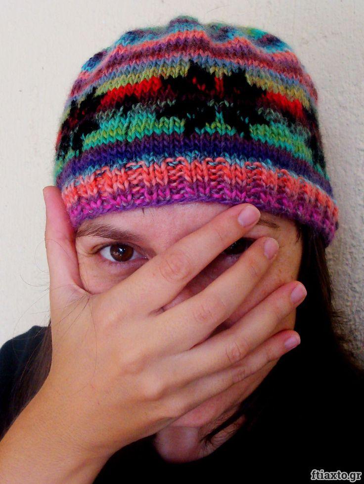 Μάθε πως να πλέκεις σκουφί με την τεχνική fair isle ή ζακάρ! Έχει και video από το ftiaxto.gr!