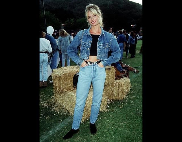 1980s Fashion Double Denim 80s Fashion The Good The