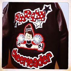 Letterman Jacket  Letterman Patches found on Facebook- Stitcharoo