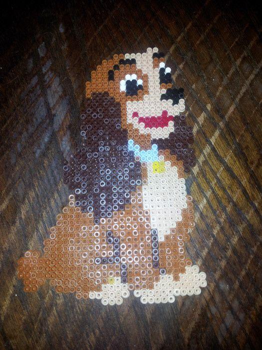 Lady Disney perler beads by Sharona H. - Perler® | Gallery
