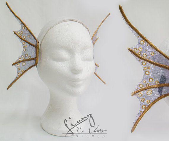 mermaid Fin Ears by LinnylaVanteCostumes on Etsy