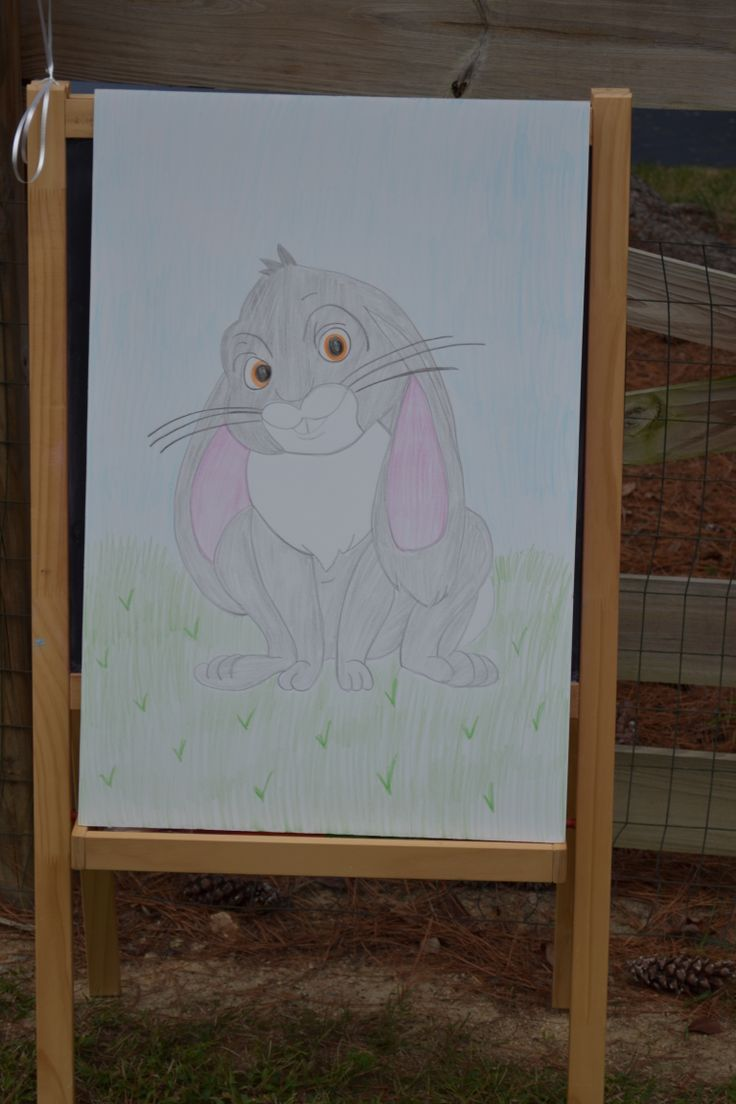 Sofia the First Birthday Party, Pin the carrot on Clover