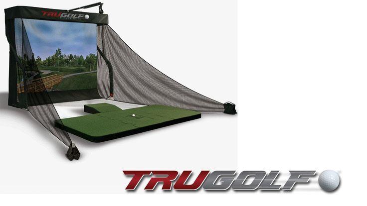 The Ultimate Golf Game Improvement Tool: TruGolf Simulator