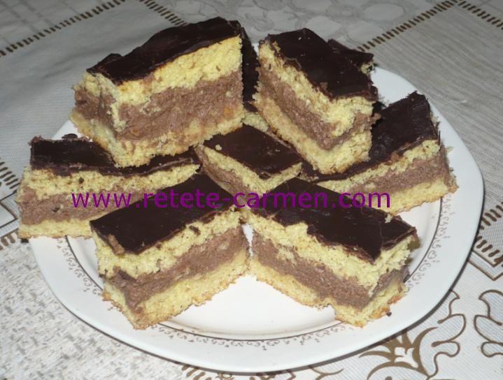 Desertul copilariei: prajitura cu crema Eugenia! Se face imediat!