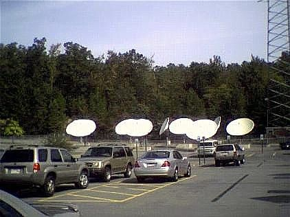 Take a Tour of a Typical Radio Station: Satellite Dishes at Radio Stations