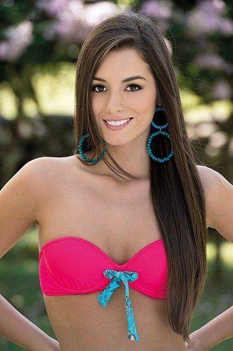 Победительница конкурса красоты мисс мира 2014!