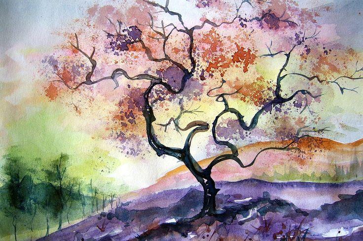 aquarela pintura japonesa - Pesquisa Google