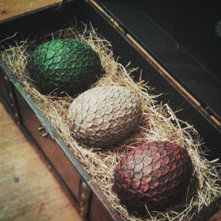 Pin for Later: 29 Items Every True Game of Thrones Enthusiast Should Own  Full Set of Full Size Dragon Eggs (£175)