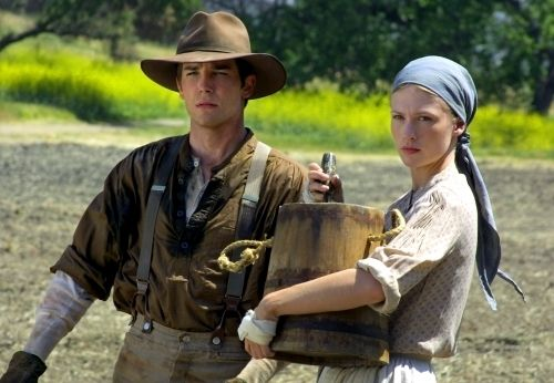 Logan Bartholomew and January Jones from Love's Enduring Promise