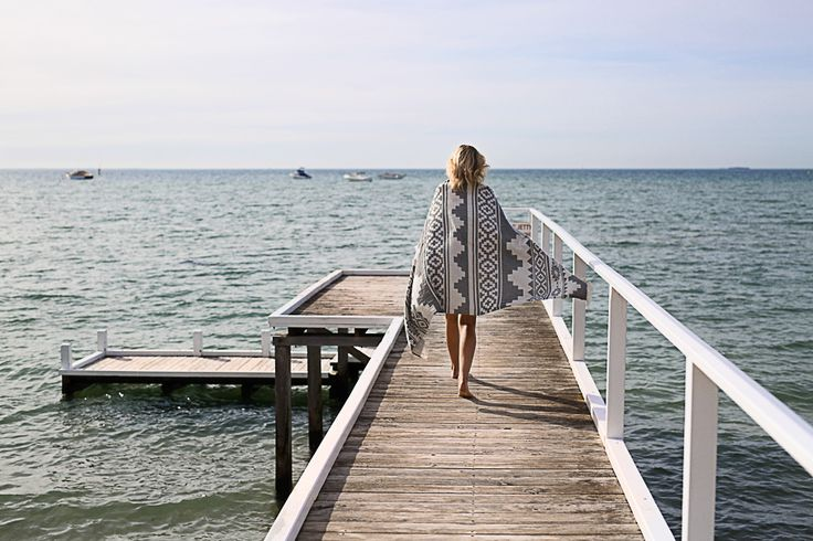Days like this… the Arizona Oteki Towel available in a standard or maxi size online now at knotty.com.au 💕