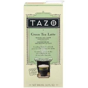 Tazo Green Tea Latte Matcha Tea Latte Concentrate 32-oz.
