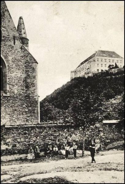Dolní Kounice - klášter Rosa coeli 1904