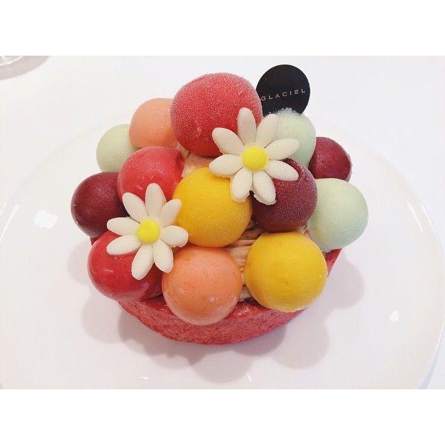 デザートテーブルに革命を♡可愛すぎる「グラッシェル」のアイスケーキ知ってる?にて紹介している画像