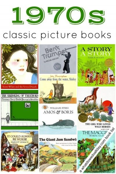 10 classic children's books from the 1970s from @momandkiddo