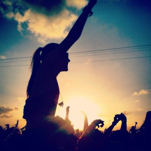 Future Music Festival 2015 - captured when listening to Hilltop Hoods <3