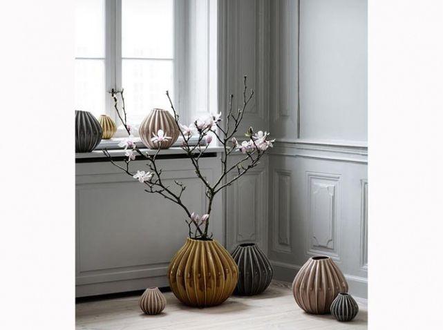 Vase rose beige