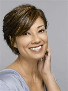 Short hair styles for women over 50. My mom should consider a few like this one. ^