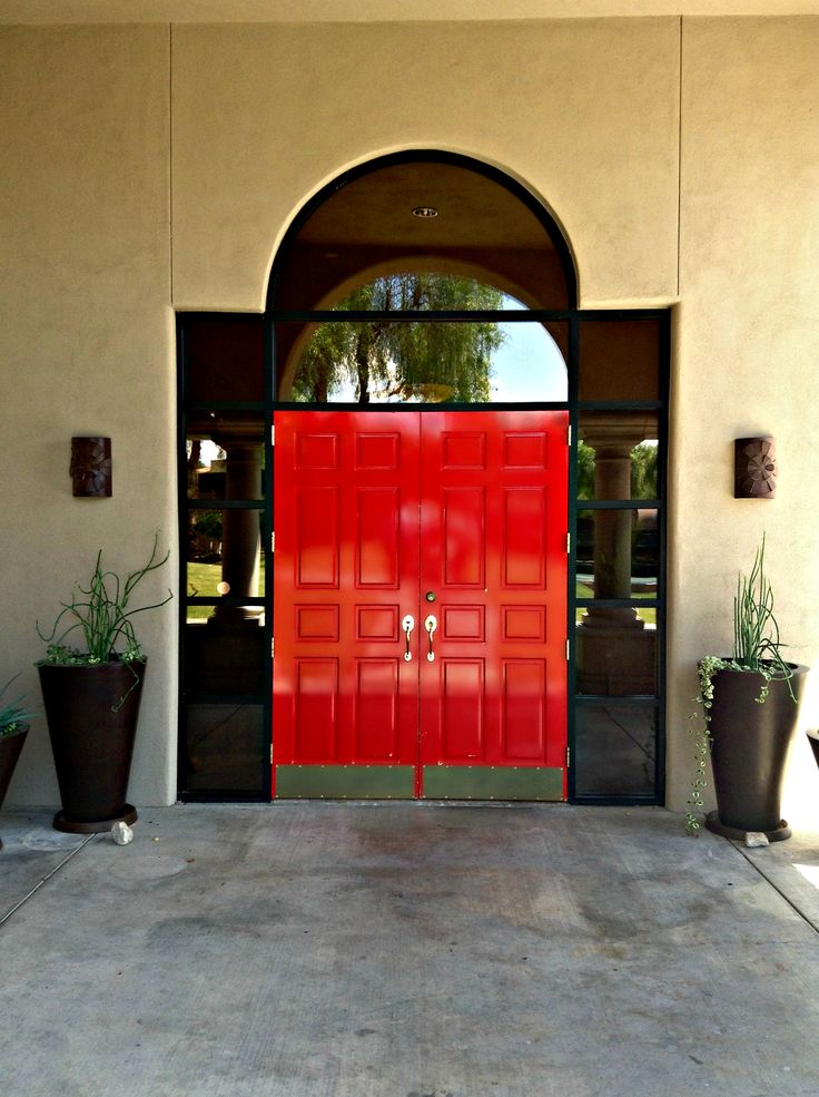 The Entrance To Red Door Spa | The Westin La Paloma Resort U0026 Spa. #