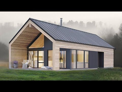 Amazing Simple And Elegant Koia Modern Cabin From Norgeshus Small Cabin Plans Small Prefab Homes Modern Cabin