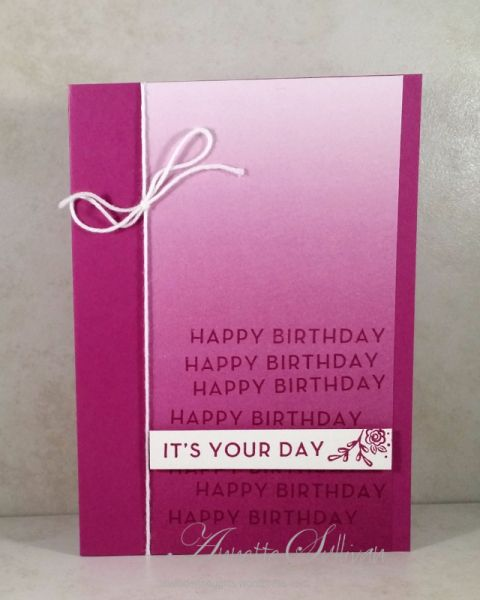 Make some Birthday Cards using Big on Birthdays – Lavender Thoughts
