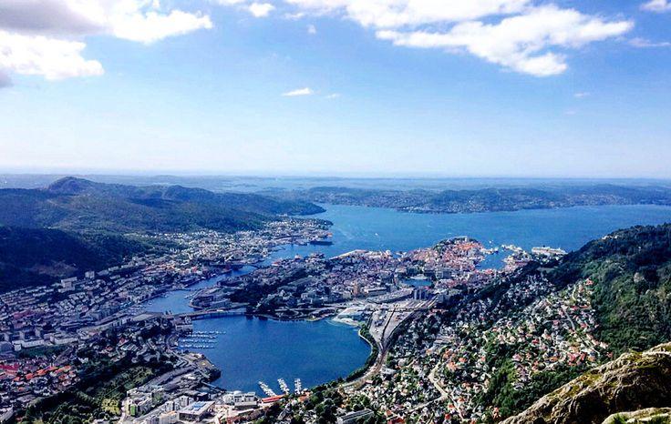Mountain Ulriken Bergen Norway