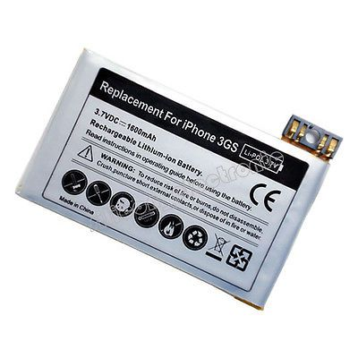 1600mAh New Replacement Battery For Apple iPhone 3GS 16GB 32GB 616-0431 616-0435 | eBay