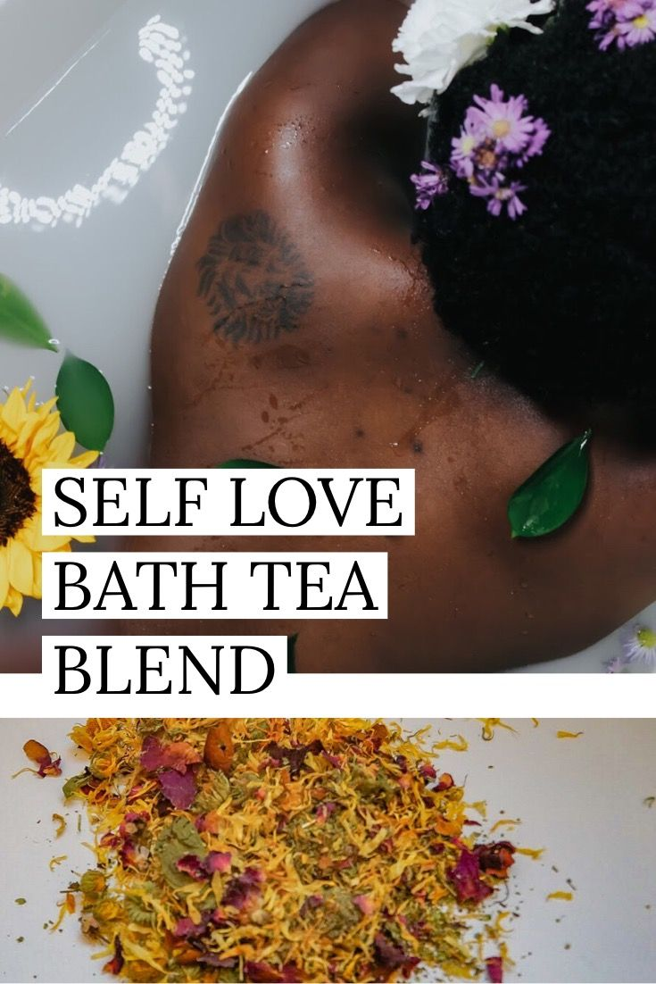 Self Love Herbal Bath Tea Blend - Oshunita | Love Spells | Bath tea