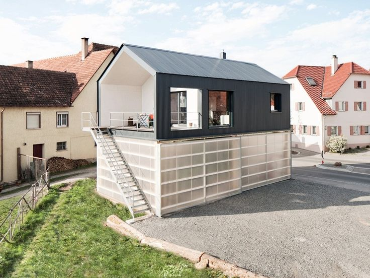*하이브리드 하우스 [ Fabian Evers Architecture and Wezel Architektur ] Haus Unimog :: 5osA: [오사]
