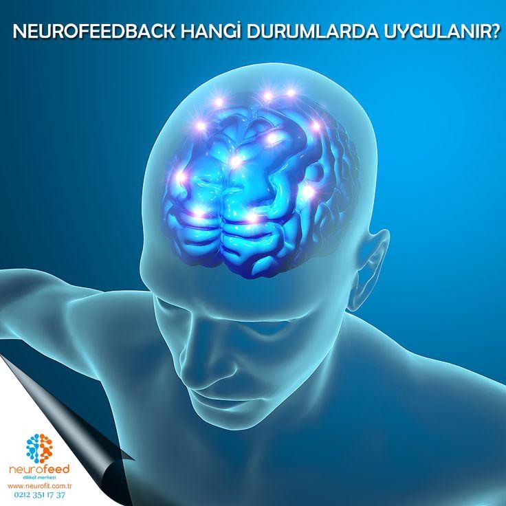 NEUROFEEDBACK HANGİ DURUMLARDA UYGULANIR? Neurofeedback birçok alanda kullanılabilen bir yöntemdir. Stres yönetimi, dikkat dağınıklığı, özel öğrenme güçlüğü gibi durumlarda neurofeedback kullanılmaktadır. En yaygın neurofeedback uygulama alanı ise, Dikkat Eksikliği ve Hiperaktivite Bozukluğu'dur. Özellikle, ilaç tedavisini tercih etmeyen, çeşitli nedenlerle ilaç tedavisinin kullanılamadığı veya ilaç tedavisine ara verilen DEHB'li çocuk ve ergenlerde neurofeedback tercih edilmektedir.