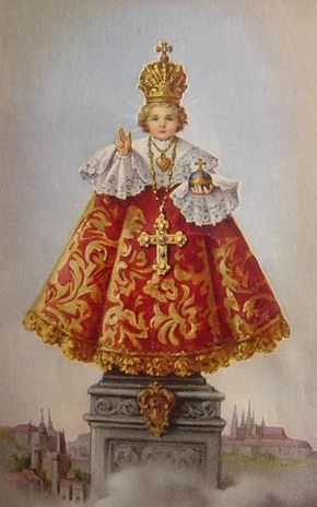 Dear Little Infant Of Prague, Please watch over Grammy today. Please give her the strength to get through this and make her healthy and whole again. We thank you with love. Amen