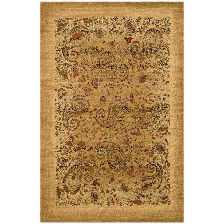 Safavieh Lyndhurst Beige/Multi 8 ft. 11 in. x 12 ft. RECTANGLE Area Rug - LNH224A-9 - The Home Depot