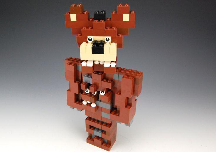 Lego 5 Nights At Freddy S Toys : Lego five nights at freddy s nightmare night