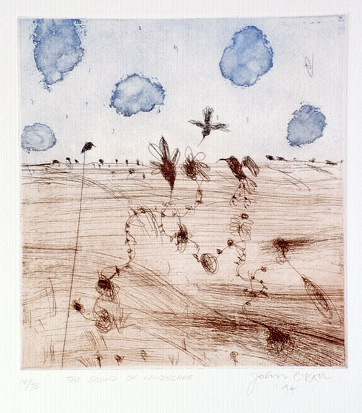 """john olsen """"the sound of the landscape"""""""