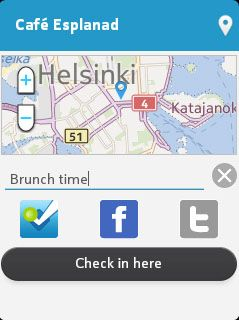 Foursquare releases all-new app for Nokia S40/Asha devices.