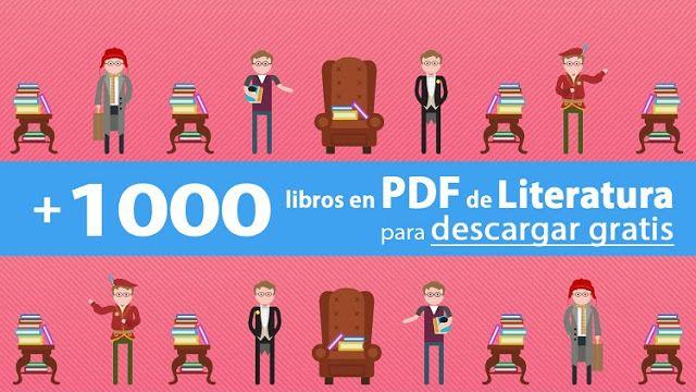 +1000 libros en PDF de dominio público de Literatura | Oye Juanjo!