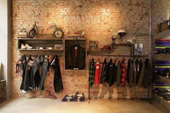 Del Carmen by Sarruc  Como decorar uma loja de roupas masculinas debc452c513