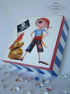 Decoupaged box :)