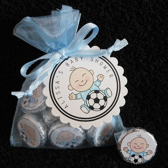 Personalized Hershey Kiss Baby Shower Favor Set baby by susiedees, $50.00
