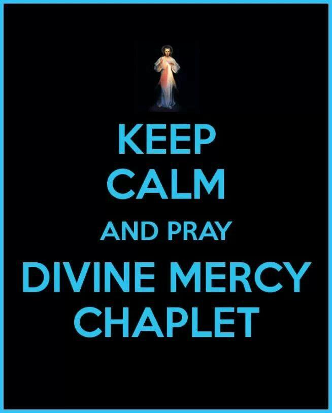 Pray Devine Mercy Chaplet