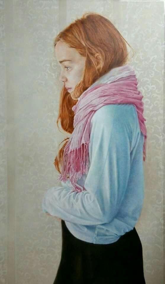 """""""Carmen"""" de Piedad Lozano. 195x116  cm."""