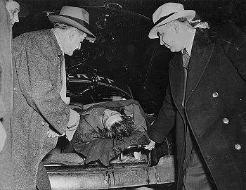 Frank Nitti Crime Scene