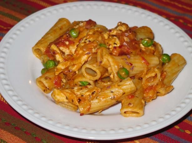 Spicy Chicken Rigatoni    This tasted the same as Buca di Peppo...it was so good!