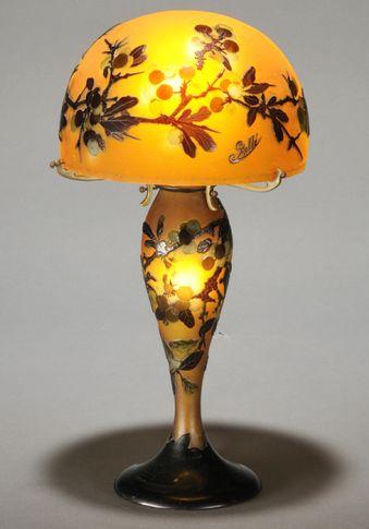 emile galle-lamp