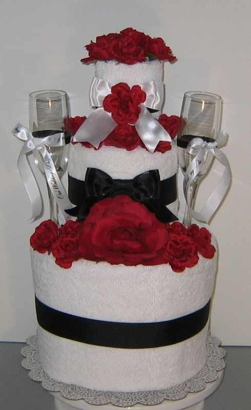 wedding cake made out of towels 180 best images about towel cakes on gifts 23110