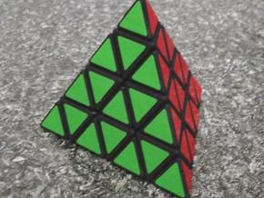 Master Pyraminx Zauberwürfel aus dem 3D-Drucker auf Shapeways bestellbar.