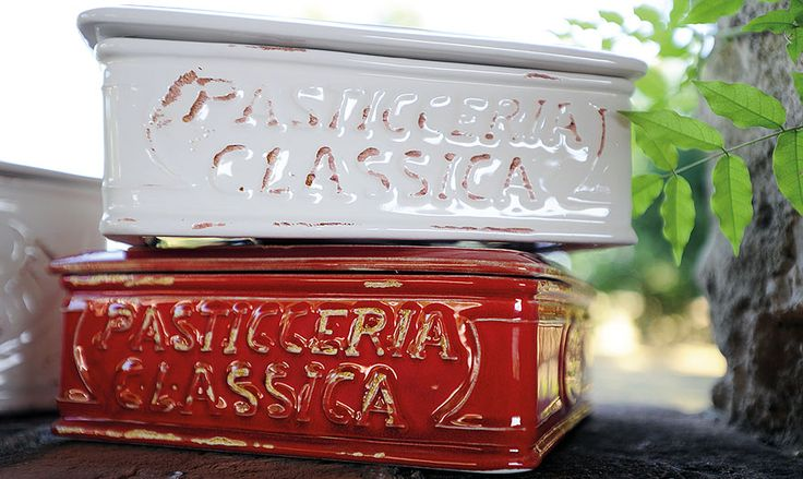 ceramic reproductions of vintage boxes